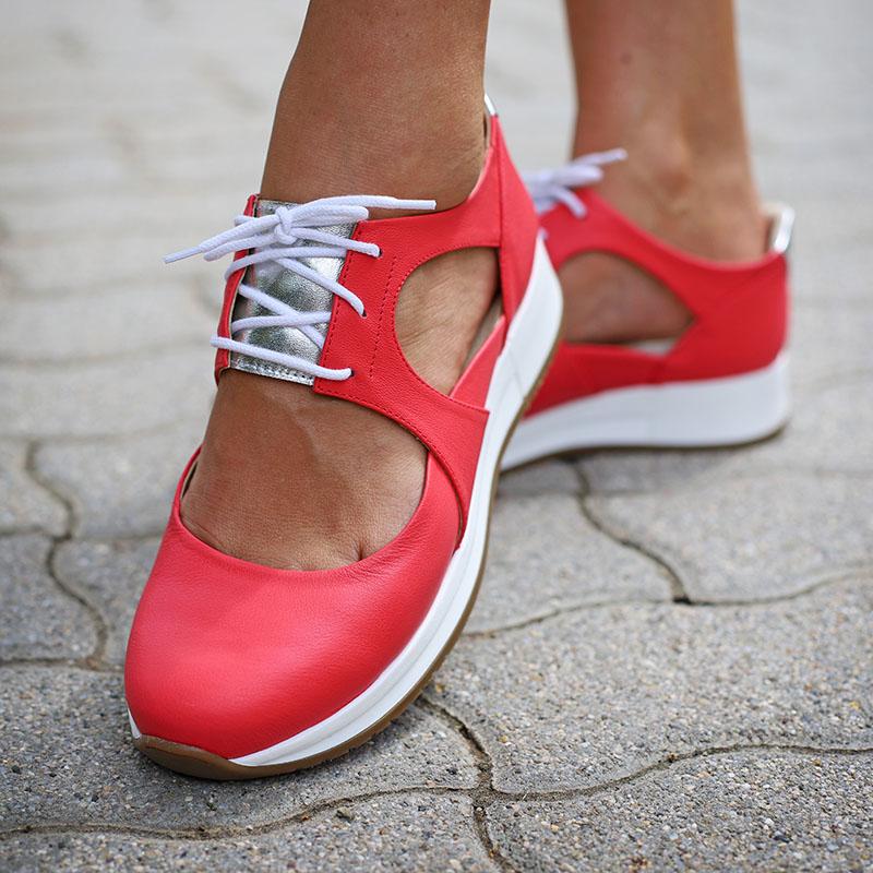 Piros Coral Cipő